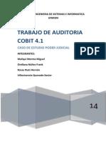 Trabajo Auditoría (Cobit 4.1)