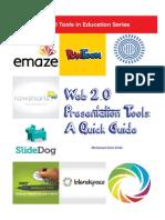 Web 2.0 Presentation Tools