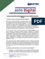Terminos de Referencia Talento Digital