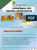 Les Emballages Des Liquides Alimentaires