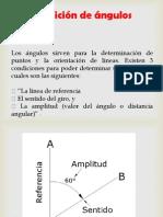 Medicion de Angulos Con Brujula