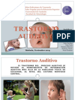 Trautamisto auditivo en niños