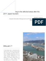 The Spatial Planning in the Affected Areas After the 2011 Japan Tsunami
