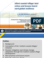 Resilient coastal village best practices and lessons learnt toward global resilience