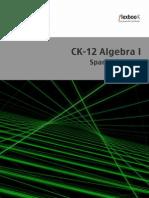 Algebra I 2014 Edicion en Espanol