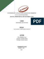 Monografia de Aisladores y Disipadores
