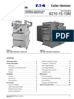 Operation and Maintenance Manual for Substation