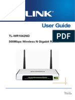 Tl-wr1042nd v1 User Guide