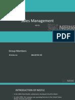 Sales Management (Nestle)