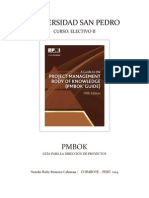 Informe PMBOK Guía Para La Dirección de Proyectos