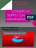 Administracion de La Produccion logistica y cadena de suministro