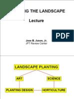 Revew Landscape Lecture