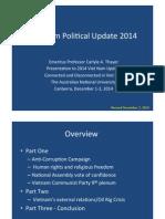 Thayer Major Political Developments in Vietnam in 2014.