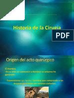 Historia de La Cirugía.