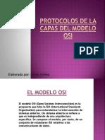 protocolos de las capas del modelo OSI