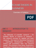 Syallabus Overview