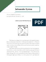 chess publishing - chebanenko system