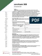 Fluorofoam 906 - DS - 0308