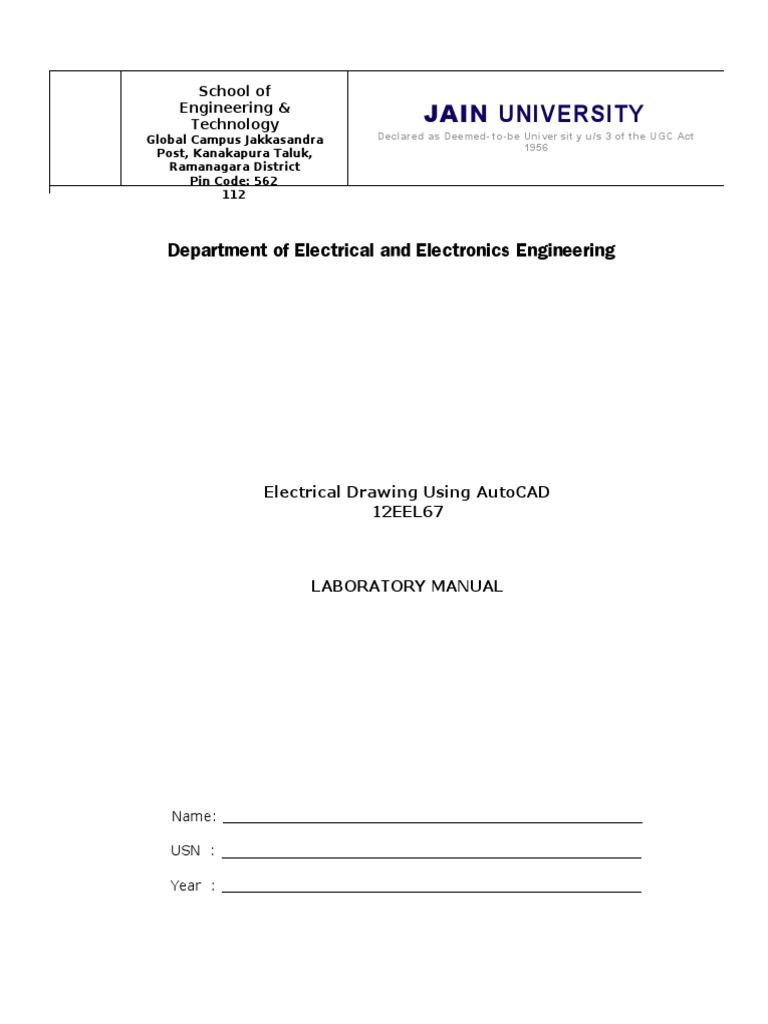 Autocad lab manual auto cad screw buycottarizona