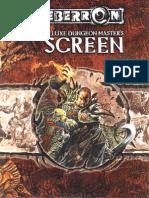 Eberron Deluxe Dungeon Master's Screen