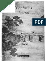 Confucius Analecte