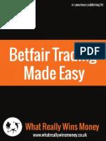 Betfair Trading Made Easy