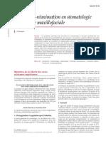 Anesthésie-réanimation en Stomatologie Et Chirurgie Maxillofaciale [36-615-C-10]