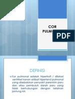 Cor Pulmonal