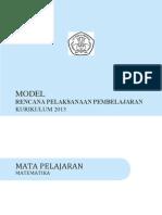 RPP MATEMATIKA