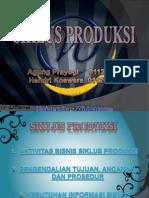 Siklus Produksi SIA