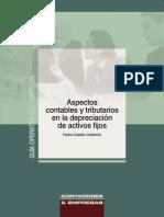 Aspectos Contables y Tributarios en La Depreciación de Activos Fijos