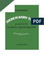Niemcow, Włodzimierz - Siedem Barw Tęczy – 1952 (Zorg)