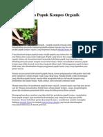 Potensi Bisnis Pupuk Kompos Organik