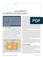 Selecting N-channel MOSFETs for High-Side Hot-Swap Control