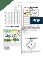 Simulado 2 ( 3º Ano - Mat - E.F) - (Blog Do Prof. Warles)
