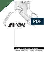 AIUS102G Manual Parts Catalog Anest Iwata