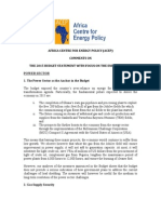 ACEP Comments on 2015 Budget - Final