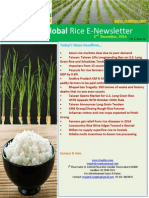 2nd December,2014 Daily Global Rice E-Newsletter by Riceplus Magazine