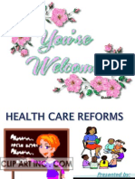 Health Care Reforms