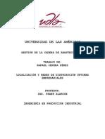 Localización y Redes de Distribución Óptimas Empresariales