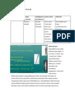 Material dan  Proses Pembuatan MT pasak Dan GTSL