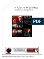 Smoke Alarm Warning - NEOFPA