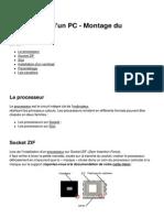 Assemblage d'Un PC -Montage Du Processeur