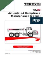 Terex TA30G7 Manual Taller