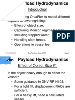 Payload Hydrodynamics