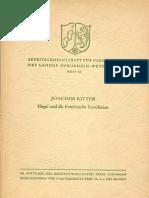 Ritter, Joachim - Hegel Und Die Franzoesische Revolution