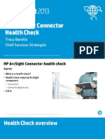 ArcSight Connector Health Check