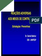 Reacoes Adversas Aos Meios de Contraste - Estrategias Preventivas - Dr. Daniel Bekhor