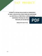 NE 017 - 2003 Prot Struct Subt Metrou Imp Curenti Dispersie