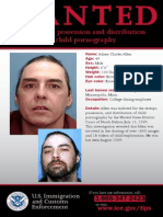 Adney Charles Allen ICE wanted posted